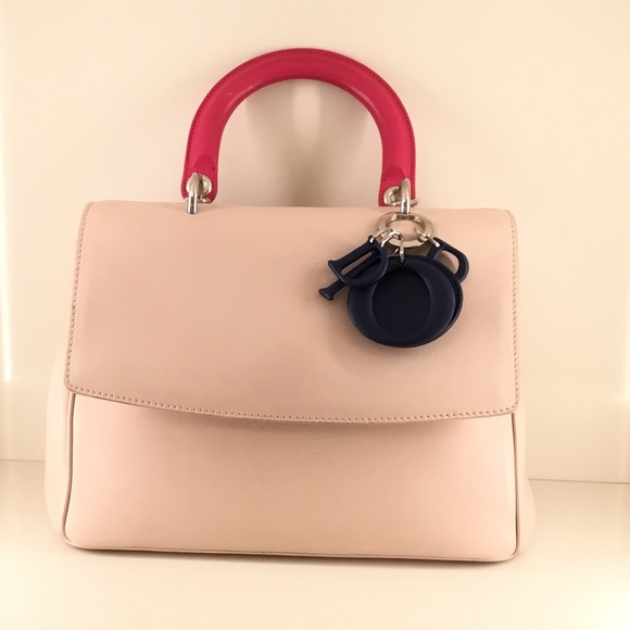 Be Dior Top Handle Flap Bag
